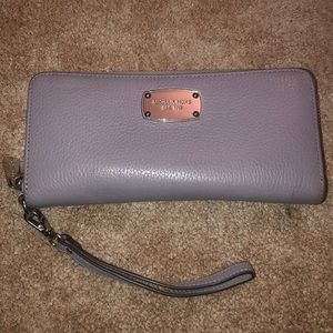 MK light purple wallet